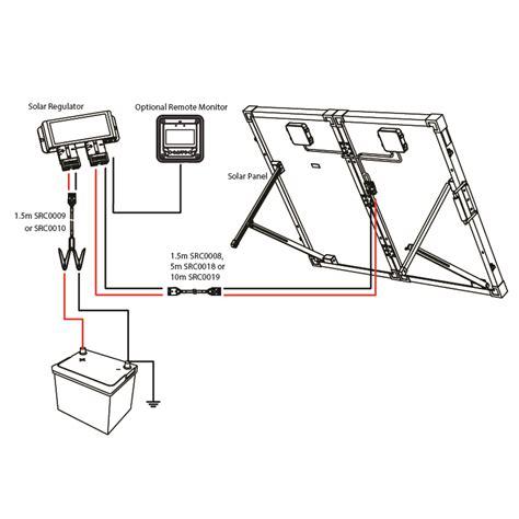 Smpa Monocrystalline Portable Folding Solar Panel Wiring