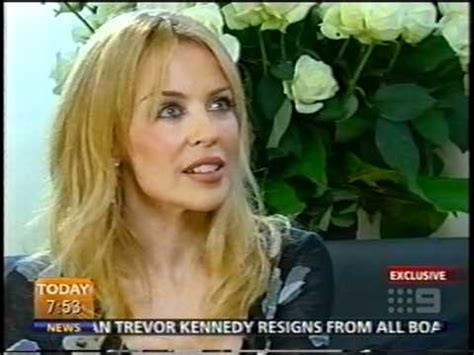kylie minogue interview today show richard wilkins body