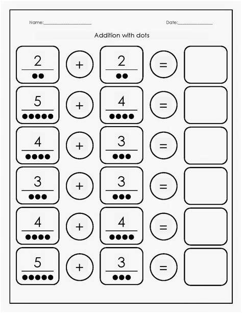 math worksheets addition kinderga math best free