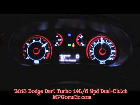 2013 Dodge Dart Rallye 1.4L Turbo 0 60 MPH   YouTube