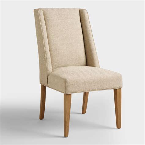 world dining room chairs khaki herringbone lawford dining chairs world market