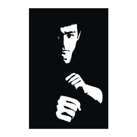 bruce lee vector pattern