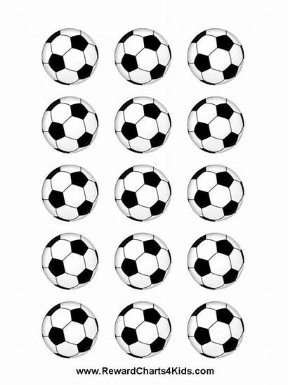 Soccer Ball Stickers Sticker Printables Chart Printable