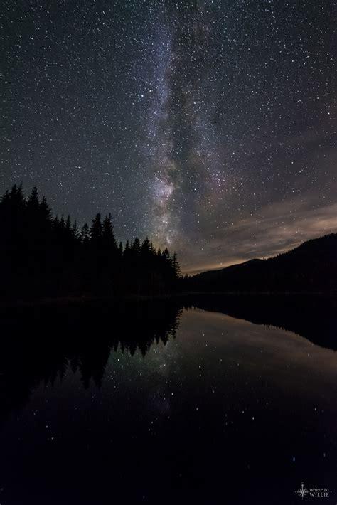 The Night Sky Stars Milky Way Where Willie