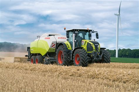 claas releases  axion  series tractors
