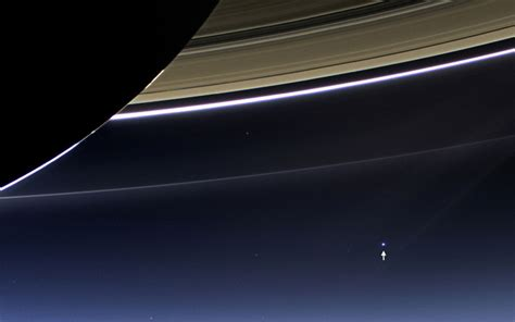 What Does Earth Look Like From Saturn