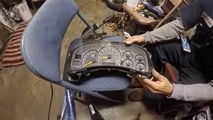 2000 Chevy 1500 Pickup Truck Instrument Cluster Repair