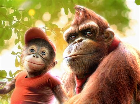 If Donkey Kong And Diddy Kong Were Realistic Untoons