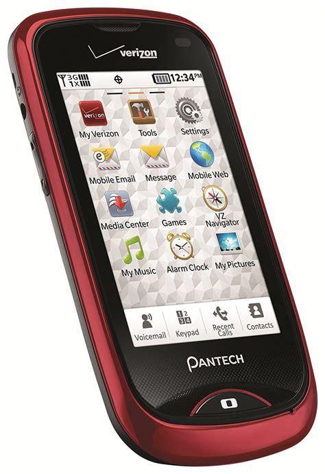 pantech hotshot pantech hotshot touch screen phone for verizon wireless