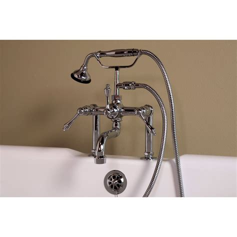 hansgrohe talis kitchen faucet strom deck mount clawfoot tub faucet p1074c s vintage tub