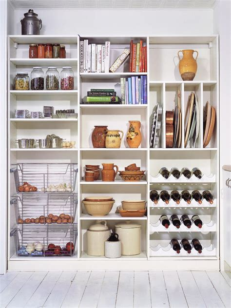 organize  kitchen pantry hgtv