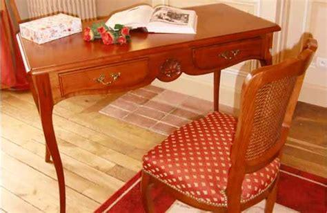 bureau louis xv en merisier meubles hummel