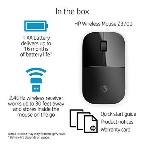 HP Wireless Mouse Z3700, Black (V0L79AA#ABL)   Buy Online