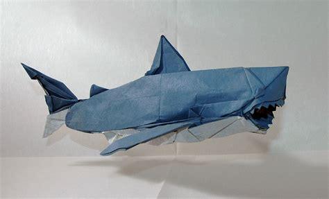 Magnificent Origami Sharks Celebrate Shark Awareness Day