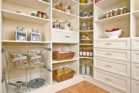 Organizing Pantries Organized Living Pantry Shelving