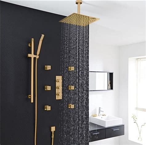 gold shower set  body jet