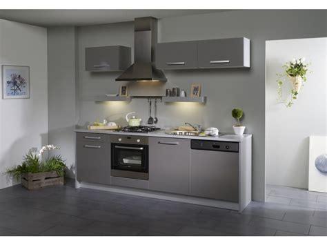 cuisine meubles gris pack cuisine 7 meubles dinah extension lave vaisselle