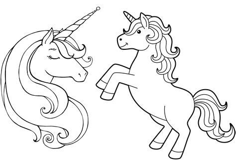 immagini di unicorni kawaii da colorare immagini unicorni kawaii da colorare