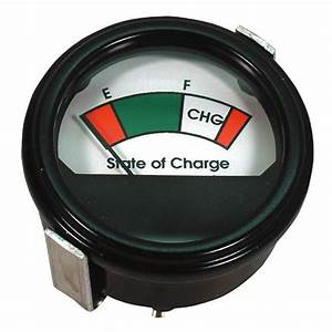 36 Volt Golf Cart Analog Battery Charge Indicator Meter