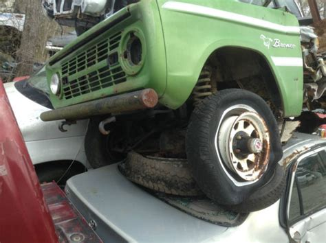 Early Ford Parts by Ford Bronco 1970 Green For Sale 00000000000000 Early 70 S