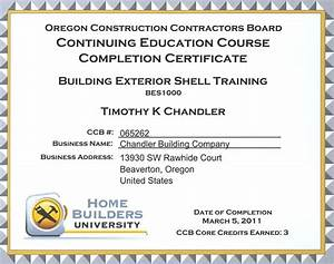 who needs continuing education credits chandler With ceu certificate template