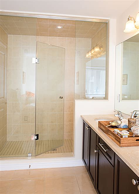 Shower In - vision mirror and shower door re imagine your beautiful