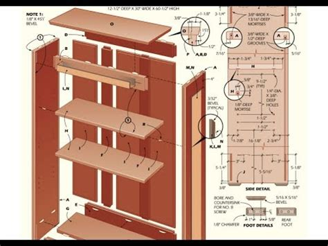 Free Bookcase Plans To Build by Bookcase Plans How To Build A Bookcase With Plans