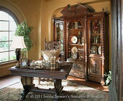 Antique Furniture French Renaissance Office Gothic Period