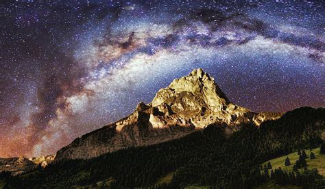 Free Photo Night Sky Galaxy Milky Way Image
