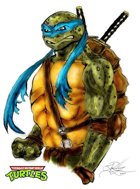 Leonardo TMNT by ~DARKNIHILISM on deviantART Teenage