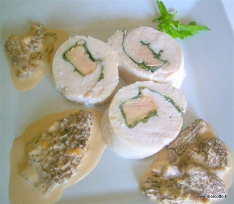 cuisine mousseline rosace de volaille aux morilles la cuisine de mercotte
