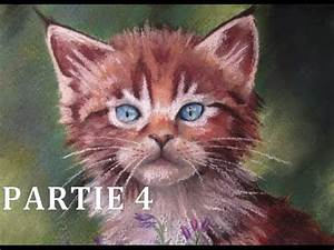 Peindre Au Pastel : tutoriel n 6 peindre un chaton au pastel sec partie 4 youtube ~ Melissatoandfro.com Idées de Décoration