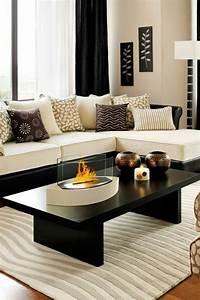 1001 idees pour un salon moderne de luxe comment rendre With meuble salon noir et blanc 18 la deco de la maison objets en bois archzine fr
