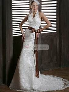 brown lace wedding dress With brown lace dress wedding