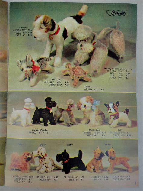 steiff germany  brochure stuffed animals cats