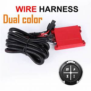 40a Led Work Light Bar Wiring Harness Relay Loom Kit On