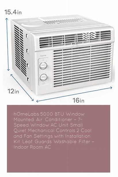Ac Window Unit Air Btu Conditioner Quiet