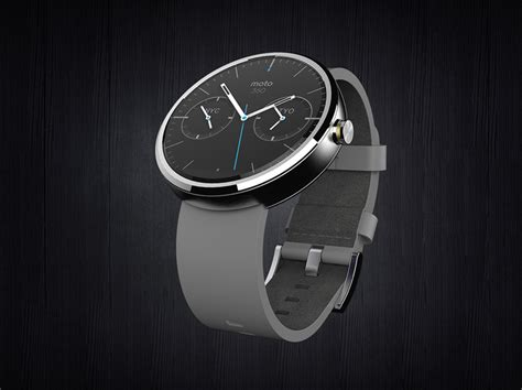 android wear moto 360 motorola presents moto 360 the smartwatch powered
