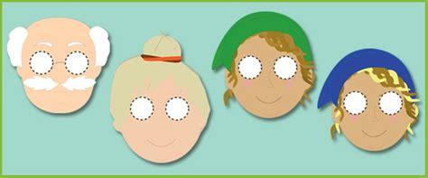 early learning resources  elves   shoemaker masks