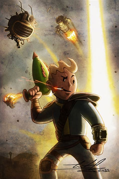 Fandomfriday The Best Fallout Fan Art Youll See This Week