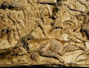 David and Goliath, detail from the origi - Lorenzo ...