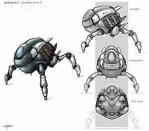 Robot concept by Hideyoshi.deviantart.com | Sketch ...