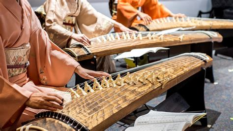 cultural performance koto harp portland japanese garden