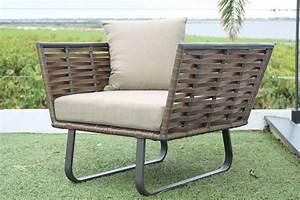 Fauteuil En Resine : fauteuil de jardin en r sine tress e horizon ~ Teatrodelosmanantiales.com Idées de Décoration