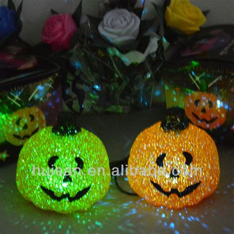 lighted outdoor decoration artificial pumpkin