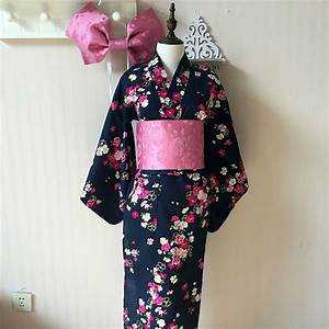Japanese Kimono Cosplay Traditional Cotton Bathrobes Japan ...