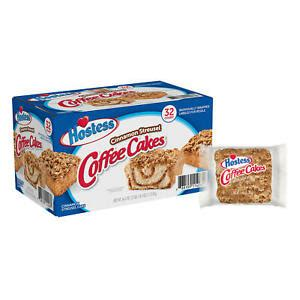 Our snackers review hostess cinnamon streusel coffee cakes! Hostess Cinnamon Streusel Coffee Cake (1.44oz / 32pk)2pack