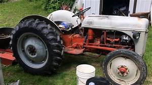 Changing The Hydraulic Fluid In A Ford 8n Tractor