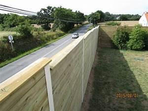 Mur Anti Bruit Végétal : panneaux anti bruit l a bois c i p region grand ouest ~ Melissatoandfro.com Idées de Décoration
