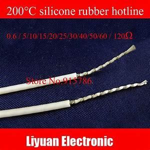 200c Silicone Rubber Hotline Sensor    Spiral Wire Electric